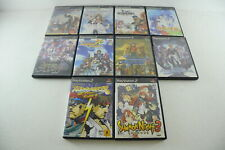 Set of 10 Playstation 2 Games - Japanese - Playstation 2 - PS2 - used - JP