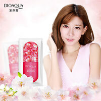 10pcs Facial Skin Care Face Cleansing Mask Sheet Pack Essence Moisture cosmetics