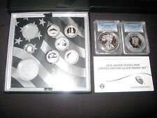 2013 Limited Edition Silver Proof Set  8 Coins  PCGS PR69  Extremely Rare!