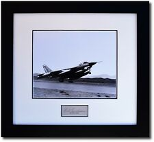 B-58 on Take Off - w/ Autograph of Test Pilot Beryl Erickson - Aviation Gifts