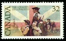 Canada Stamp #1028 - Loyalists and British flag (1984) 32¢ MNH