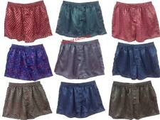 3 x Gents Silk Boxer Shorts. Quality Stylish Underwear. Size M. Random colours