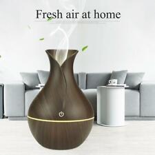 Aceite esencial difusor de Aroma humidificador Ultrasónico Purificador de Aire LED J3D0