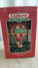Hallmark 1986 First Christmas Together Magic Light Hot Air Balloon Ornament