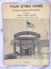 1958 Your Gtmo Home Us Naval Base Guantanamo Bay Cuba Military Housing Guide