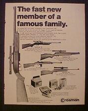 1971 Crosman Powermatic 500~M-1 Carbine Rifle C02 BB Gun Toy Memorabilia Ad
