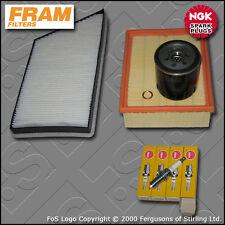 SERVICE KIT PEUGEOT 206 2.0 16V GTI FRAM OIL AIR CABIN FILTERS PLUGS (1999-2005)