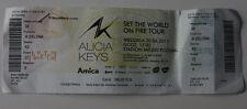 ALICIA KEYS 2013 TOUR Poznan Poland TICKET * Set the World on Fire Tour