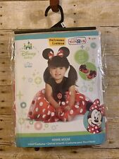 Disney Baby Minnie Mouse Halloween Dress Up Costume 12-18 Months NEW