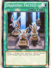 Yu-Gi-Oh - 2x Dragonic Tactics - SDBE - Saga of Blue Eyes White Dragon