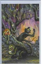Matthew Kirscht Catching Fireflies Sketch 11/75 Halloween Black Cat 01.17