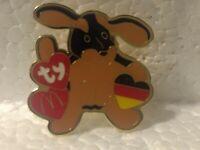 McDonald's TY Teenie Beanie Babies Doby Doberman Germany Collectible Pin pin3255