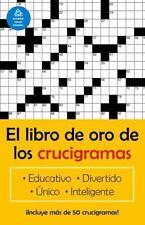 Vintage Espanol: El Libro Oro de los Crucigramas by Jim Puzzler (2002,...