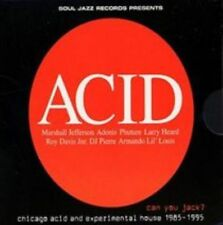 Can You Jack? Chicago Acid and Experimental House 1985-95 Audio CD