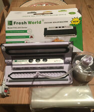 Food Vacuum Sealer with jar and bags Packing Machine And Canisters uk seller