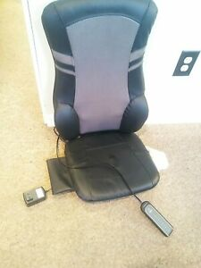 Massage Chair Model 740 HJ 2.5 Brookstone Seat Topper Heat. H