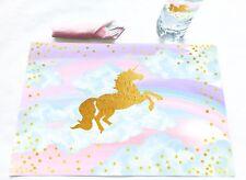 Magical Unicorn 12 Placemats - Unicorn Decorations
