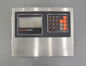 Mettler Toledo Masstron 8141 Digital Platform Scale Indicator Controller (25011)