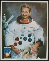 s1406) Raumfahrt Astronaut Owen K. Garriott - NASA Photo Autograph Signature OU