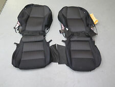 2016 2017 Nissan Maxima black cloth OEM Factory seat cover set front & Rear