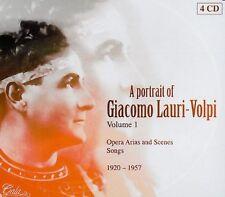 Giacomo Lauri-Volpi - Portrait of 1 [New CD] Holland - Import