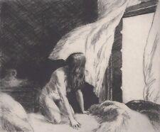 """Evening Wind Edward Hopper Canvas Wall Art  """"20x20"""""""