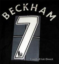 Manchester united BECKHAM 7 football shirt Nom/Numéro Set enfant/jeunesse d'impression