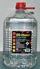 Bioethanol ,96% Bio Alkohol, die grüne Energie, Kamin Ethanol, 5 Liter