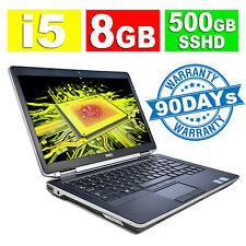 """DELL LATITUDE LAPTOP E6430s NOTEBOOK 14"""" CORE i5 2.8GHz 8GB 500GB SSHD WIN 10"""