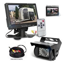 Kit Retromarcia Monitor Telecamera Posteriore HD Cavo Trattore Furgone Camion