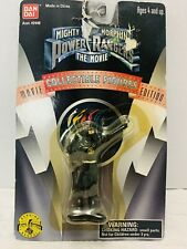 "1995 Mighty Morphin Power Rangers Movie Black Ninja Ranger 2.5"" Figure **NIB**"