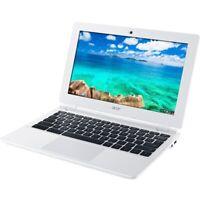 """Acer 11.6"""" HD Chromebook Intel Celeron N2830 2.41 GHz 16GB SSD 2GB RAM Webcam"""