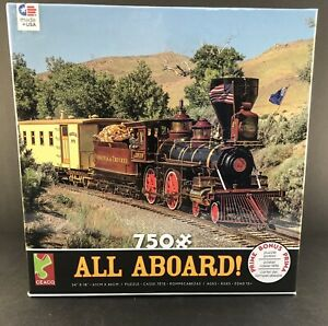 All Aboard 750 Piece Puzzle By Ceaco