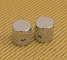 009-4057-049 (2) Genuine Fender Guitar Pure Vintage '58 Knurled Telecaster Knobs
