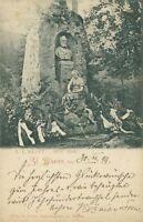 Ansichtskarte St. Blasien 1899 E. F. Kraft Denkmal   (Nr.760)