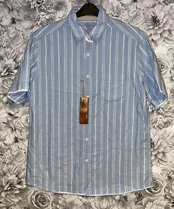 Mens Large - BNWTS- Short Sleeved Shirt - M&S