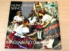 EX !! Magyar Notak/Hungarian Songs/1964 Qualiton LP