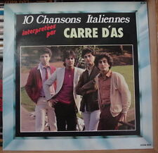 CARRE D'AS 10 CHANSONS ITALIENNES FRENCH LP