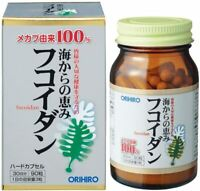 ☀ ORIHIRO Blessings from the sea Fucoidan Supplement for 30 Days Japan