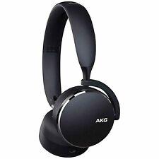 AKG Y500 Wireless Bluetooth Headset Stereo Over Ear Earphones Headphones Black