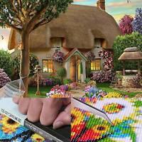 DIY 5D Diamond Large Embroidery Painting Landscape Dream Cottage Craft Decor