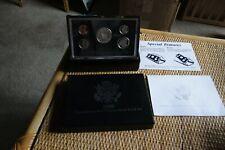 1998 US Mint Premier Silver Proof Set, Original Box + COA