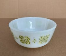 Vintage Replacement Anchor Hocking Fire King Meadow Green Small Bowls