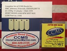 CCMS OMC Johnson Evinrude Sport Outboard Reed 65-140 hp V4 C/F 1968-1999 PN144S