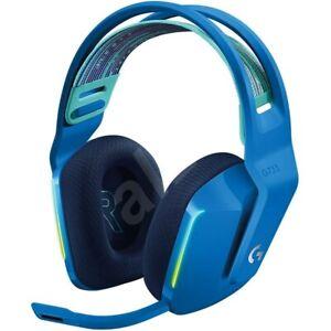 NEW Logitech G733 Lightspeed Wireless Gaming Headset Suspension Headband BLUE