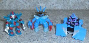 Zbots GALOOB Z-Bot 3 Figurine Lot Xeno Emporon Haxxon