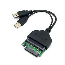 """1set USB 3.0 to SATA 22Pin & SATA to Micro SATA Adapter for 1.8"""" 2.5"""" Driver"""