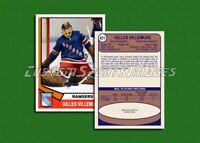 Gilles Villemure - New York Rangers - Custom Hockey Card  - 1973-74
