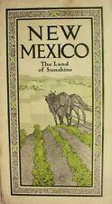1907__EASTERN__NEW__MEXICO__RAILROAD__PROMO_ __ROCK__ISLAND__RR__ PHOTOS__&__MAP