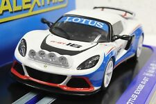 SCALEXTRIC C3520 LOTUS EXIGE R-GT WITH LIGHTS NEW 1/32 SLOT CAR IN DISPLAY DPR